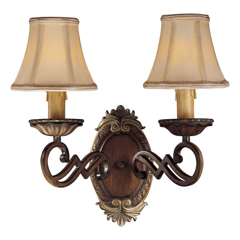 Minka Lavery ML 1944 2 Light Candle-Style Wall Sconce from the Belcaro