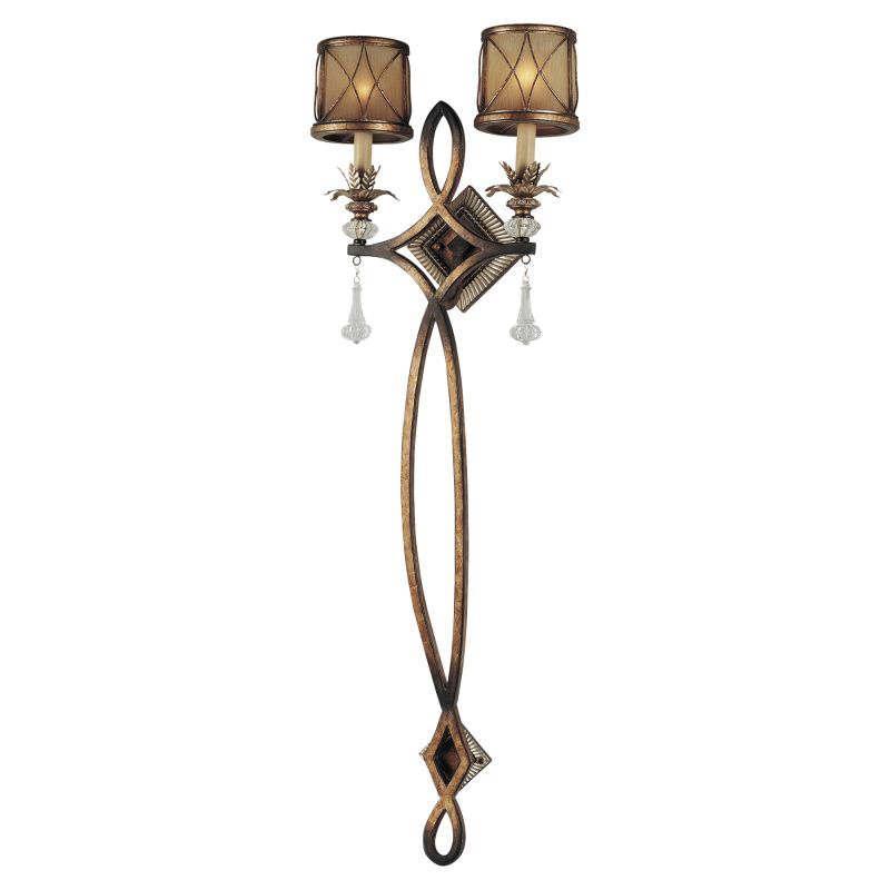 Plug In Tiffany Wall Sconces : Minka Lavery 4742-206 Aston Court Bronze 2 Light Wallchiere Wall Sconce from the Aston Court ...