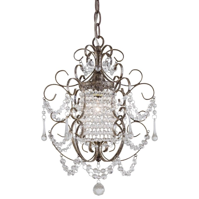 Minka Lavery ML 3121 1 Light 1 Tier Crystal Chandelier from the Mini