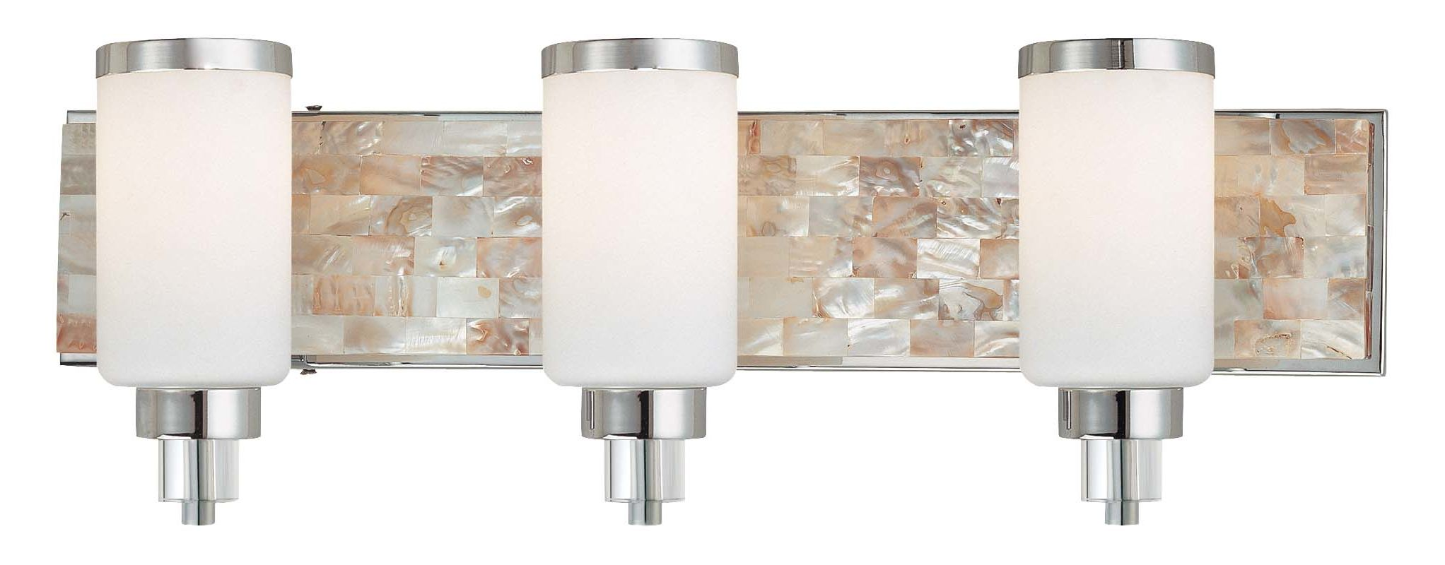 Minka Lavery 3243 3 Light 25.5&quote Width Bathroom Vanity Light Chrome