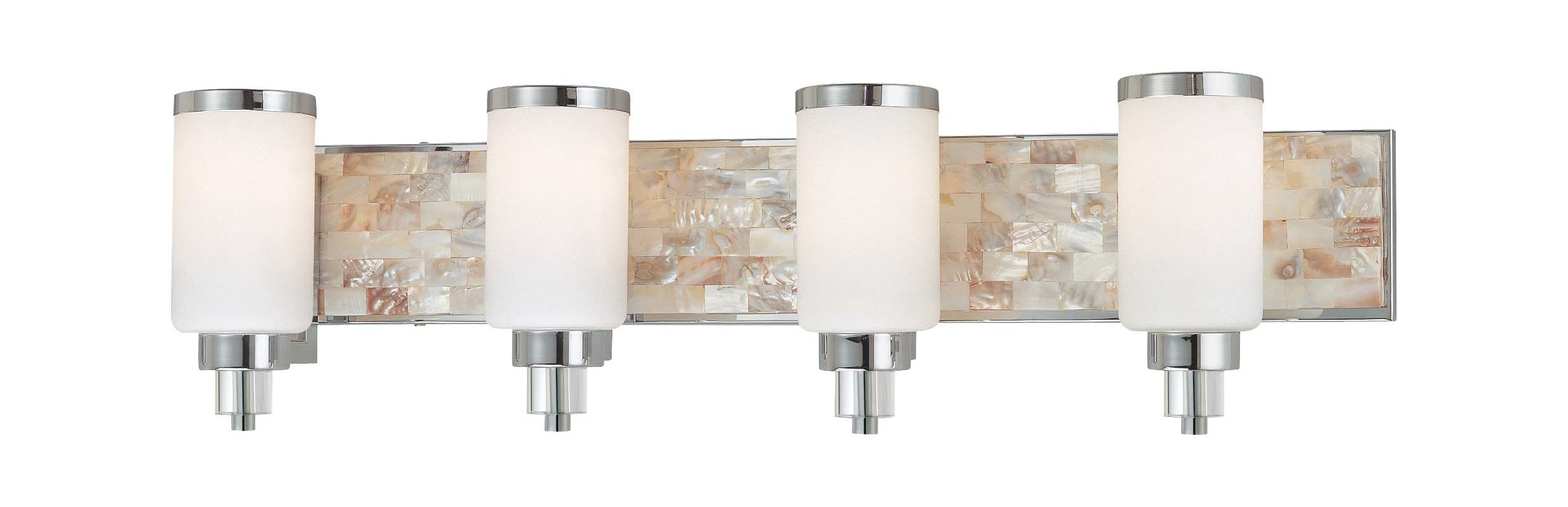 Minka Lavery 3244 4 Light 34&quote Width Bathroom Vanity Light Chrome with