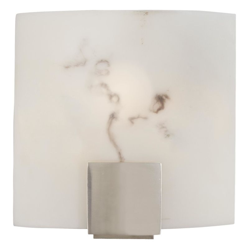 "Minka Lavery ML 334 1 Light 8.75"" Width ADA Wall Sconce with Alabaster Sale $85.90 ITEM: bci347319 ID#:334-84 UPC: 747396016863 :"