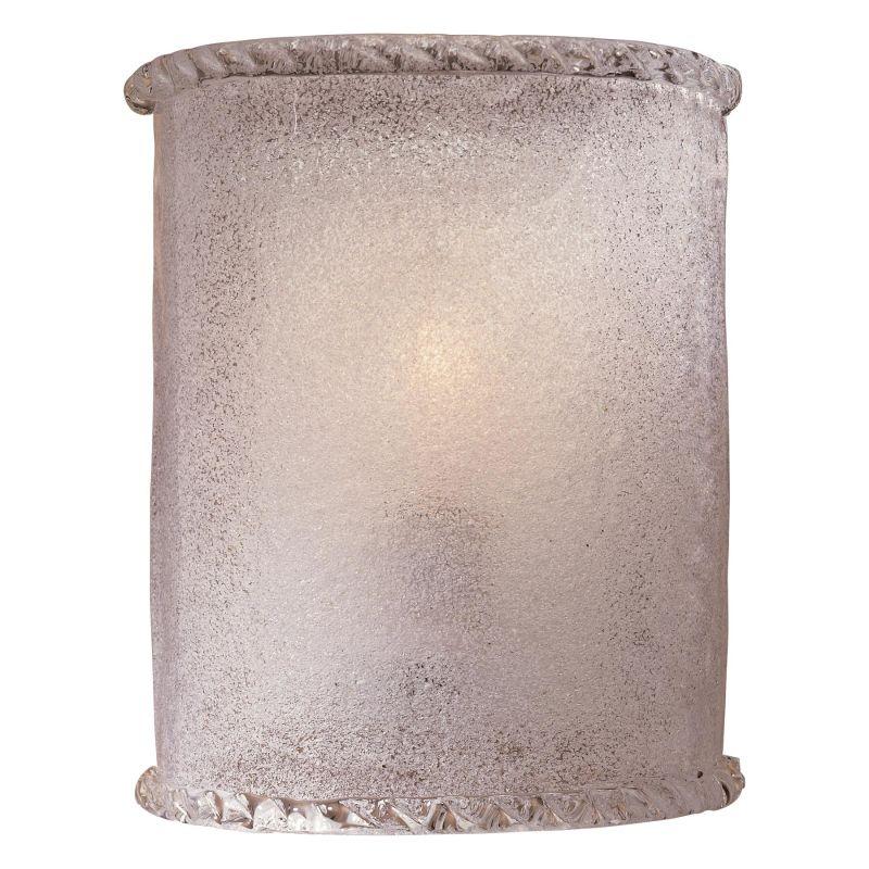 Minka Lavery 338-1 White Piastra Glass 1 Light 8