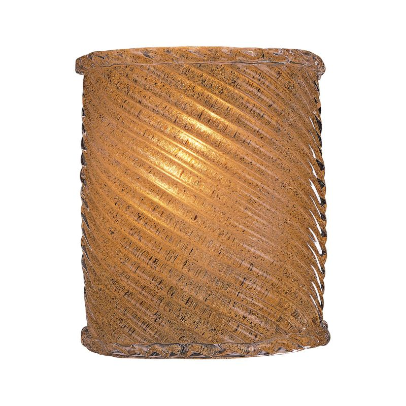 "Minka Lavery ML 338 1 Light 7.75"" Width ADA Wall Sconce Striped Amber"