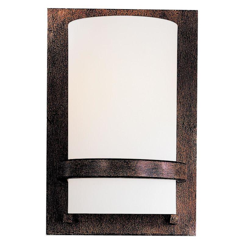 "Minka Lavery ML 342 1 Light 6.75"" Width ADA Wall Sconce Iron Oxide Sale $87.90 ITEM: bci347329 ID#:342-357 UPC: 747396016894 :"