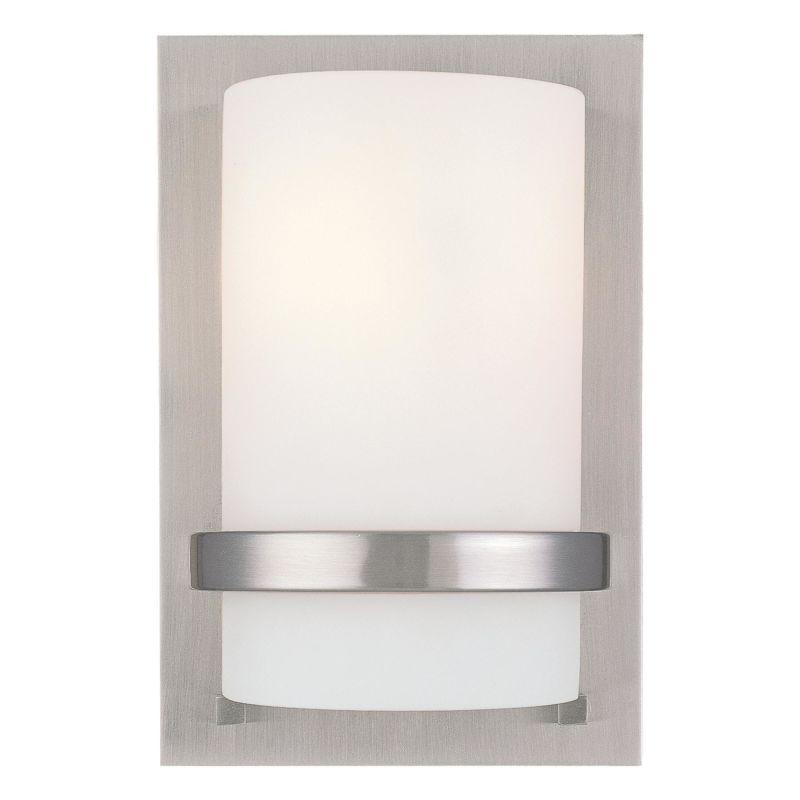 "Minka Lavery ML 342 1 Light 6.75"" Width ADA Wall Sconce Brushed Nickel Sale $87.90 ITEM: bci347328 ID#:342-84 UPC: 747396045979 :"