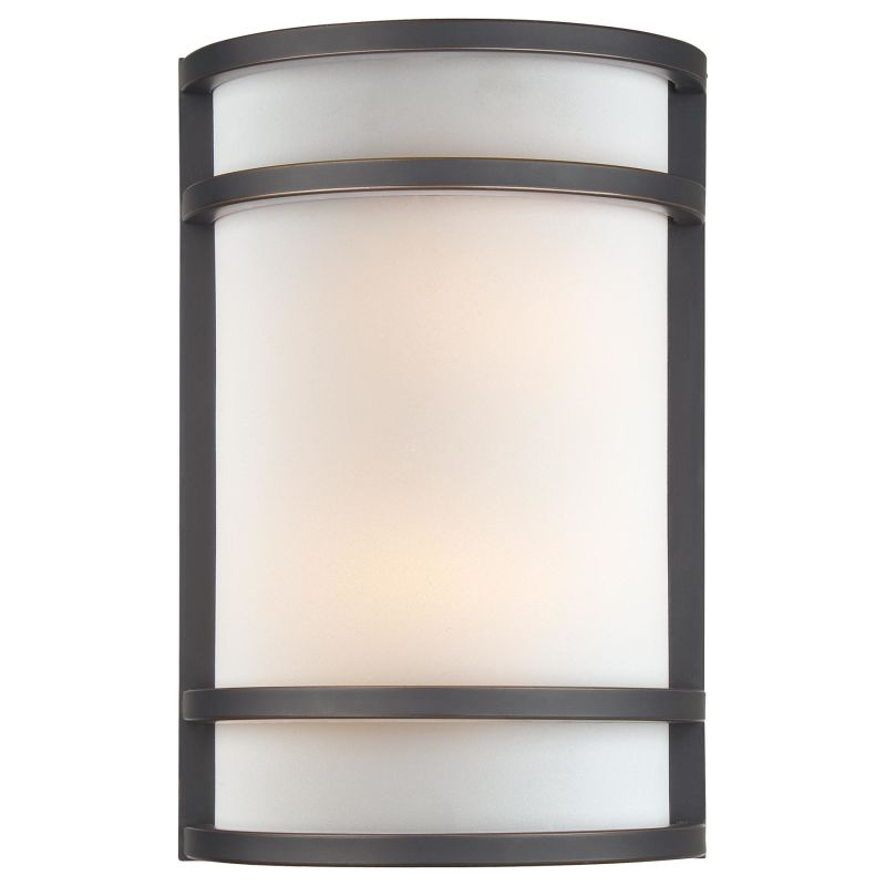"Minka Lavery ML 345-PL 2 Light 7.75"" Width ADA Flush Mount Wall Sconce"
