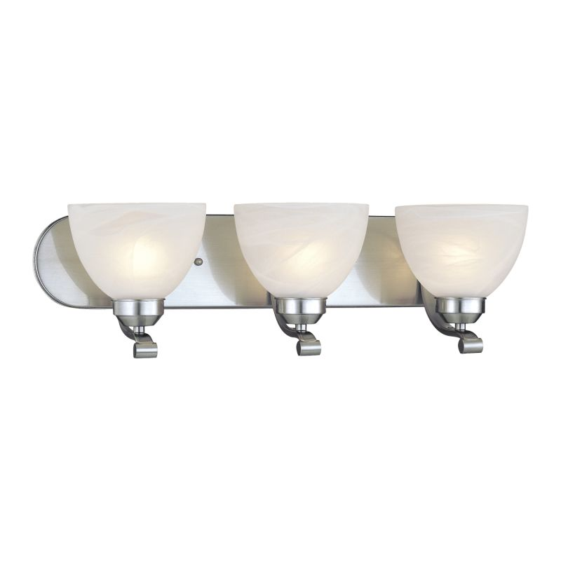 Minka Lavery ML 5423-PL 3 Light Energy Star Bathroom Vanity Light with Sale $139.90 ITEM: bci347478 ID#:5423-84-PL UPC: 747396052892 :