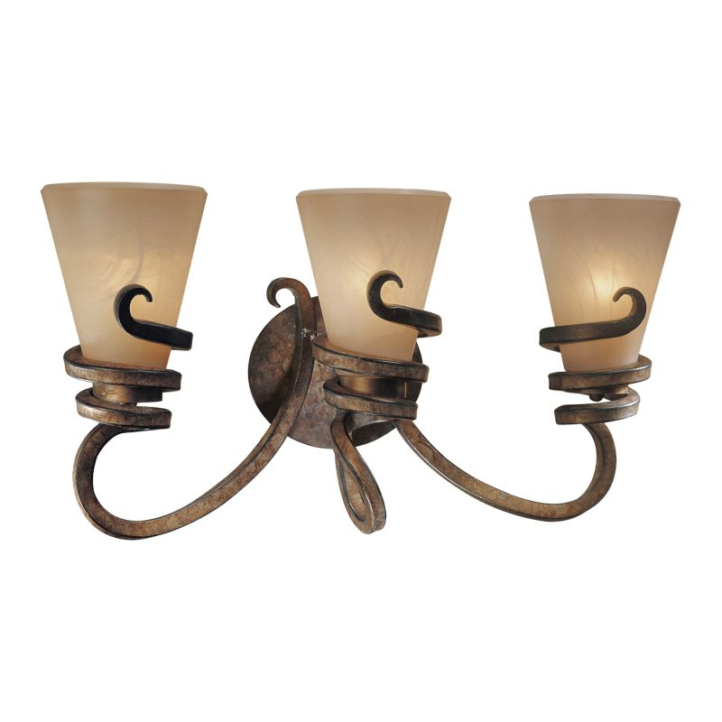 Minka Lavery 3 Light Vanity Light in Tofino Bronze 6763-211