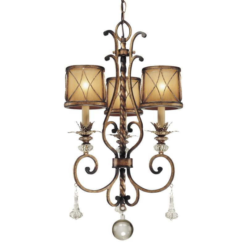 Minka Lavery 4753 3 Light 1 Tier Mini Crystal Chandelier from the