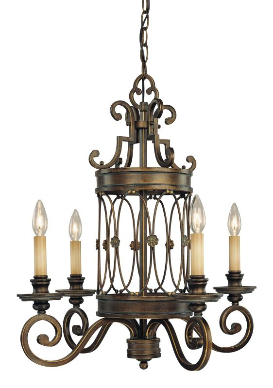 Minka Lavery 4234 4 Light 1 Tier Chandelier from the Atterbury