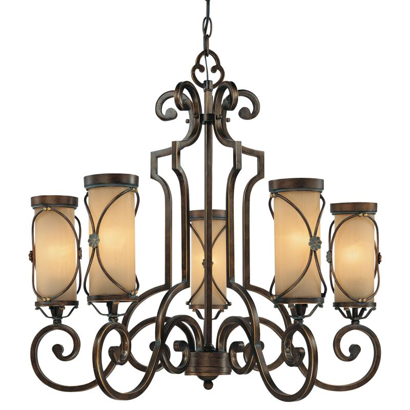 Minka Lavery 4235 5 Light 1 Tier Chandelier from the Atterbury