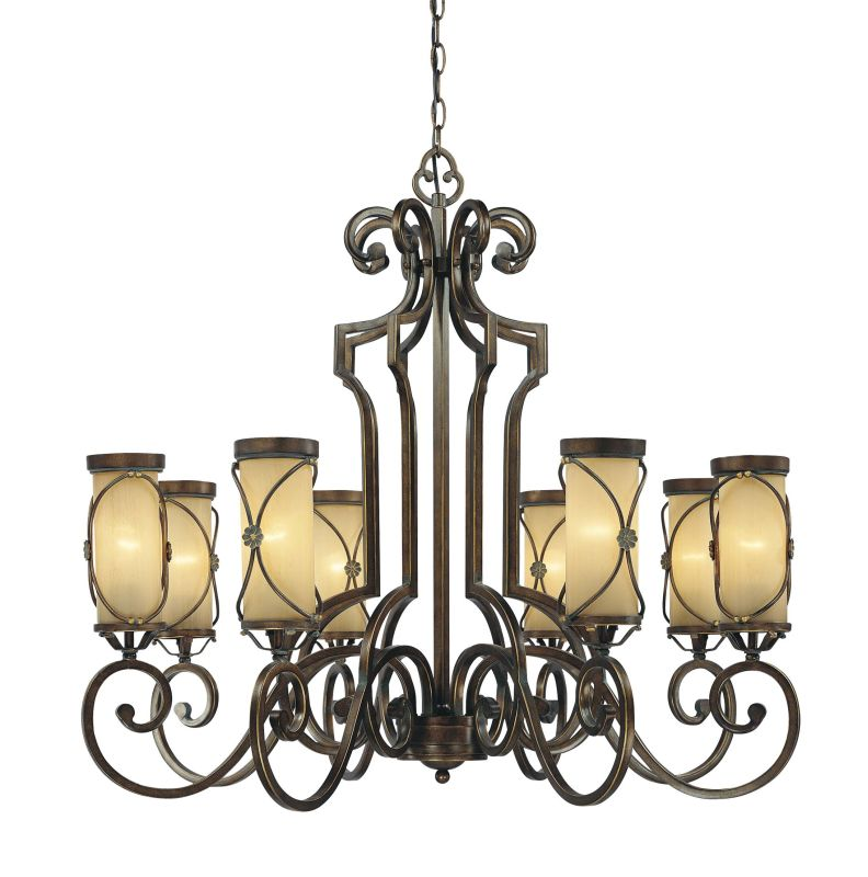 Minka Lavery 4238 8 Light 1 Tier Chandelier from the Atterbury