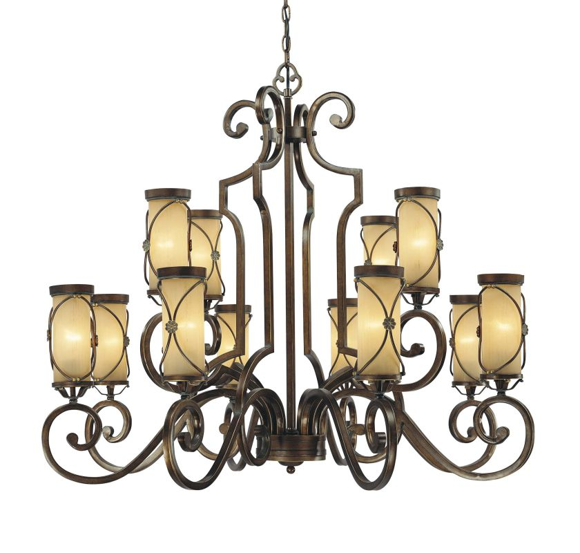 Minka Lavery 4239 12 Light 2 Tier Chandelier from the Atterbury