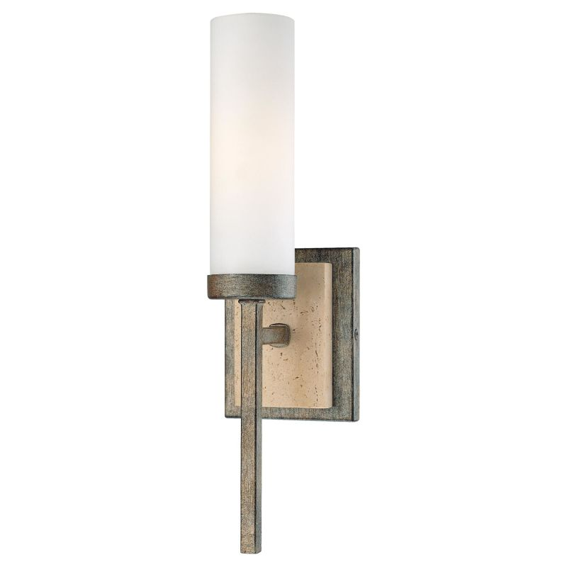 Minka Lavery 4460-273 Aged Patina Iron Contemporary Wall Sconce