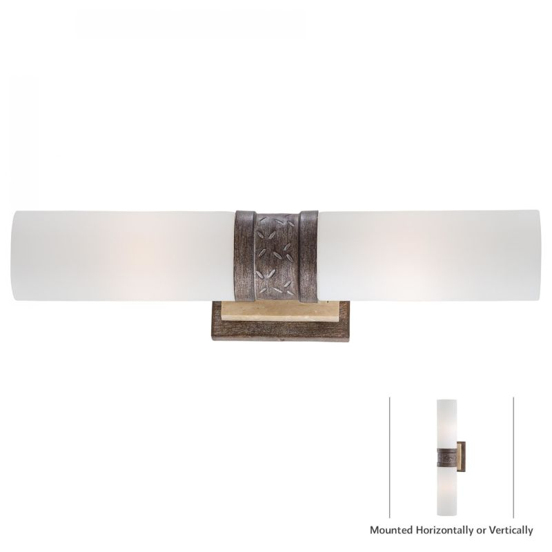 Minka Lavery 4462-273 Aged Patina Iron Contemporary Wall Sconce