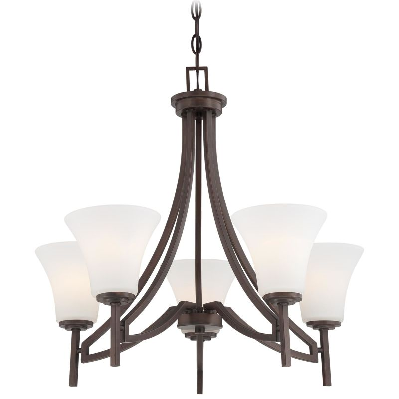 Minka Lavery 4935 5 Light 1 Tier Chandelier from the Middlebrook