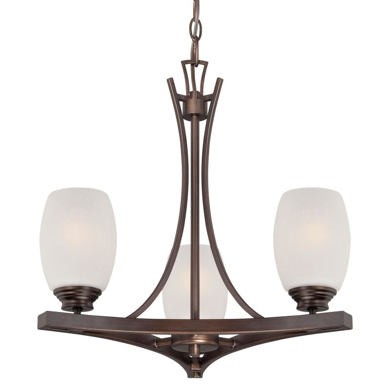 Minka Lavery 4953-267B 3 Light 1 Tier Chandelier from the City Club