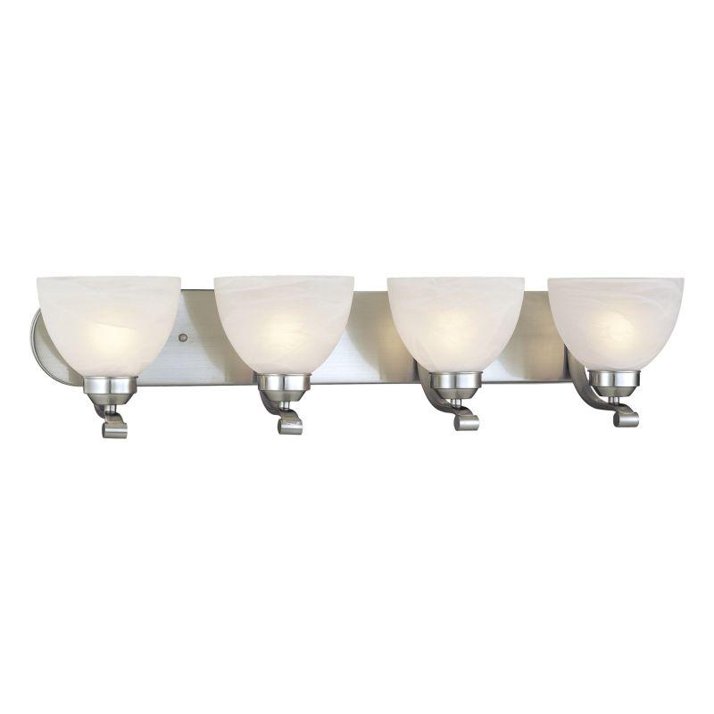 Minka Lavery ML 5424-PL 4 Light Energy Star Bathroom Vanity Light with