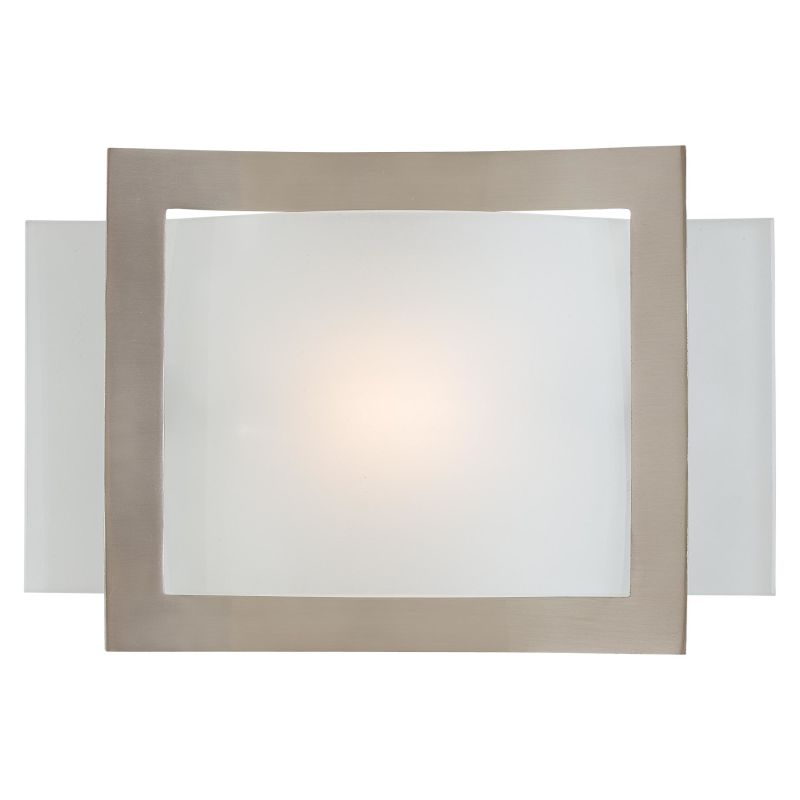 Minka Lavery 505-84 Brushed Nickel Contemporary Wall Sconce