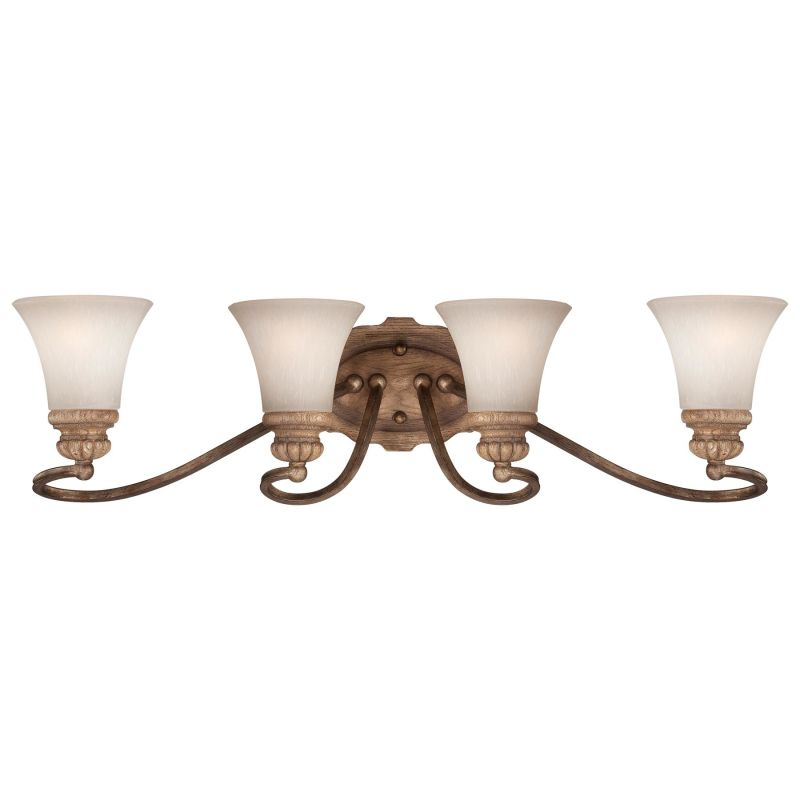 Minka Lavery 5204 4 Light Bathroom Vanity Light from the Abbott Place