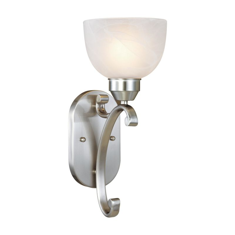 """Minka Lavery ML 5420 1 Light 6.25"""" Width Wall Sconce Etched Marble"""