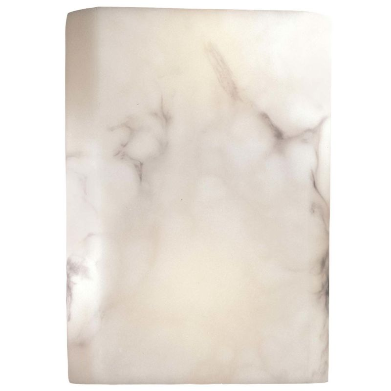 Minka Lavery 549 Alabaster Dust Contemporary Wall Sconce