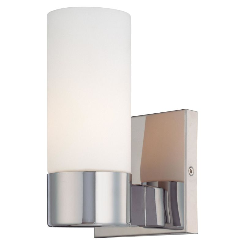 Minka Lavery 6211-77 Chrome Contemporary Wall Sconce