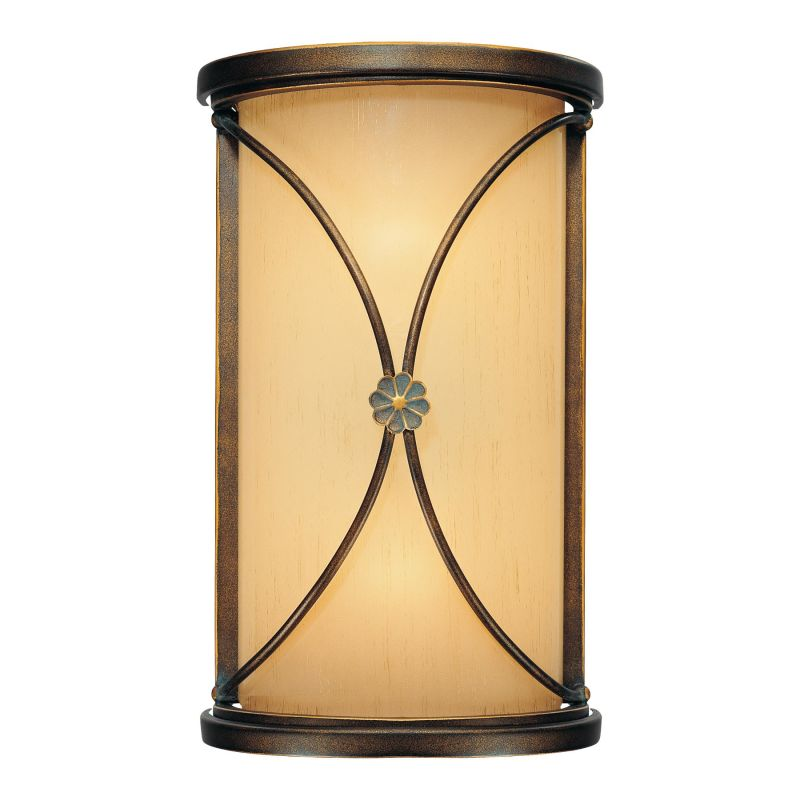Mink Glass Wall Lights : Minka Lavery 6231-288 Deep Flax Bronze 2 Light ADA Wall Sconce from the Atterbury Collection ...