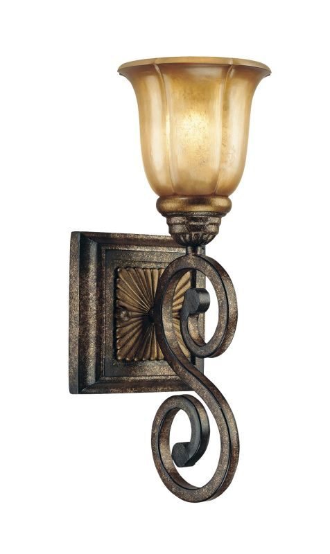 Minka Lavery 6331 1 Light Bathroom Sconce from the Brompton Collection