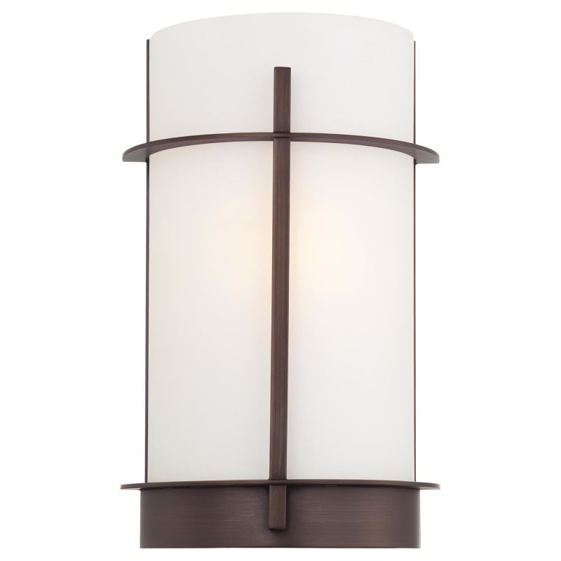 "Minka Lavery 6460 1 Light 7.75"" Width ADA Wall Sconce from the"