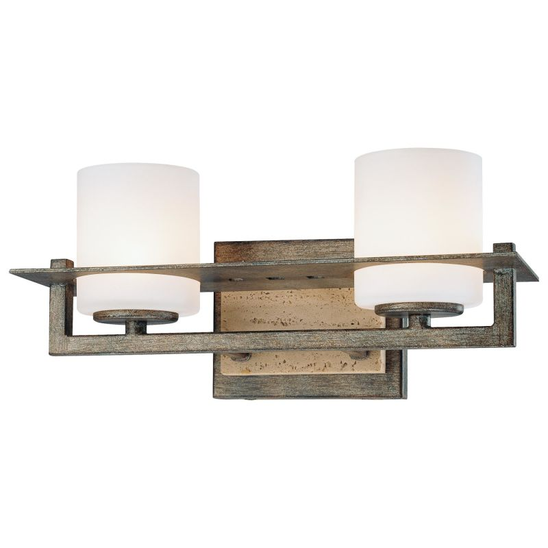 Minka Lavery 6462 2 Light 12.75 Width Bathroom Vanity Light from the