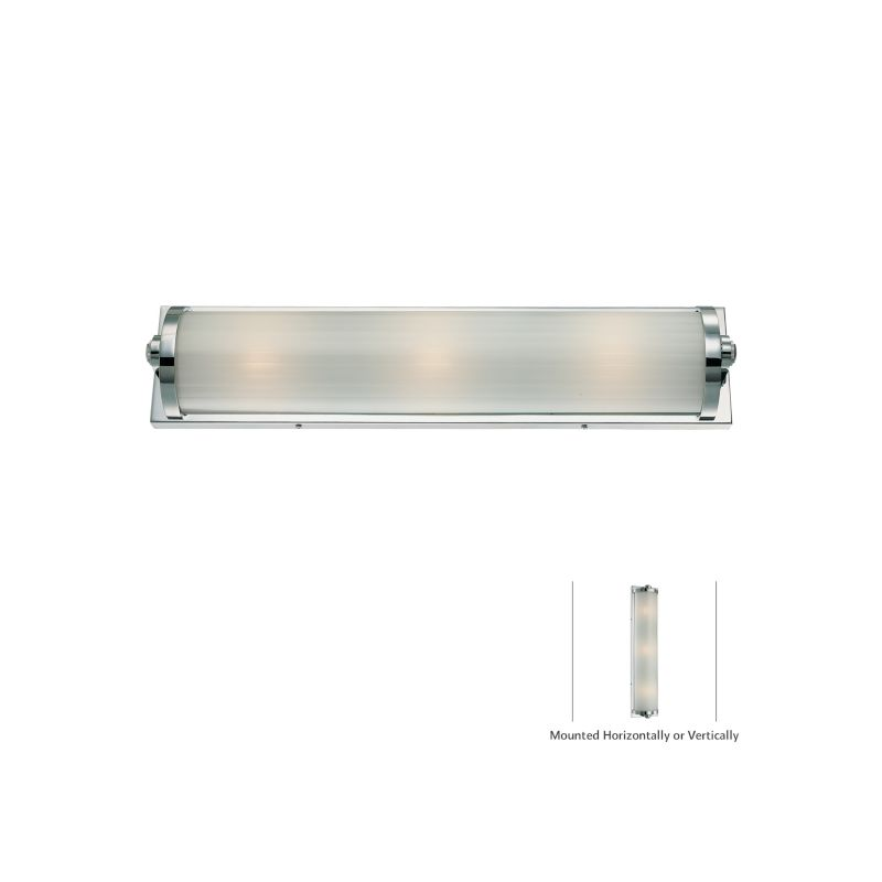 "Minka Lavery 6523 Hyllcastle 3 Light 24"" Width ADA Bathroom Bath Bar"