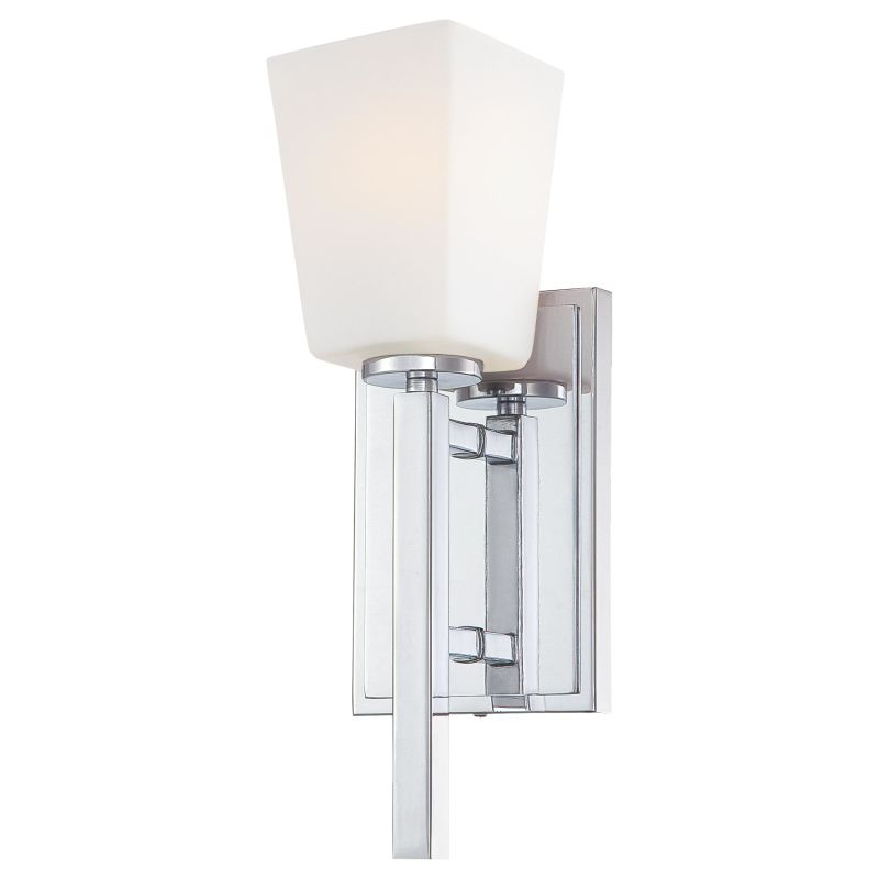 Minka Lavery 6540 1 Light Wall Sconce from the City Square Collection Sale $100.00 ITEM: bci1723141 ID#:6540-77 UPC: 747396076898 :