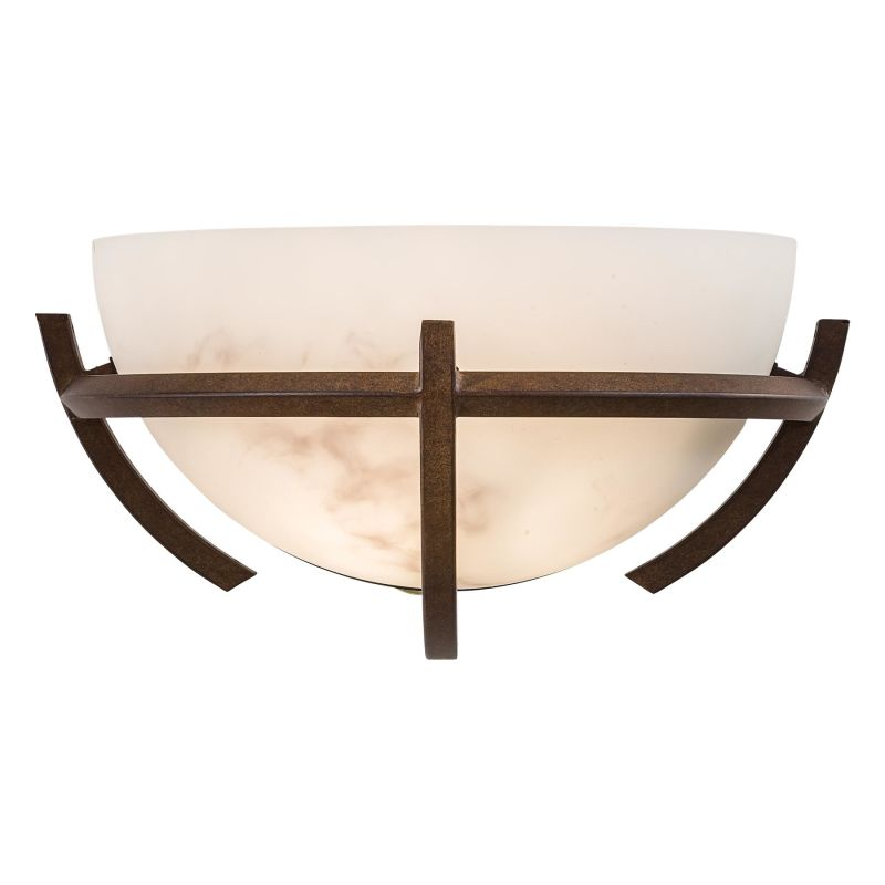 "Minka Lavery ML 680 1 Light 12.75"" Width Wall Washer Wall Sconce from Sale $127.90 ITEM: bci347802 ID#:680-14 UPC: 747396018706 :"