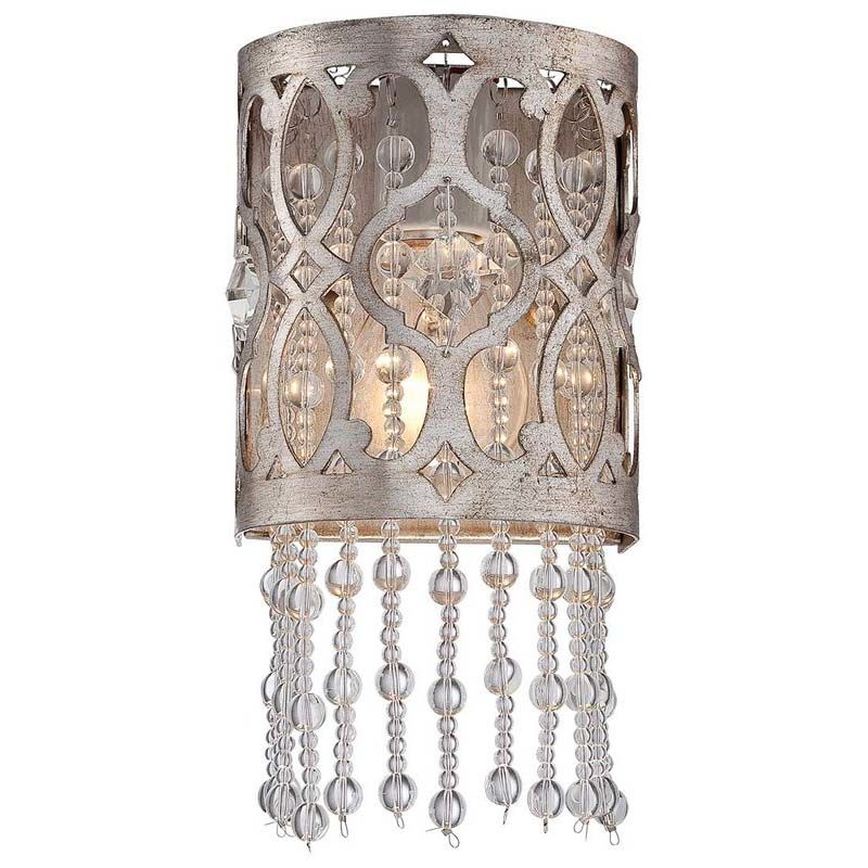 Minka Lavery 6841-276 1 Light Flush Mount Wall Sconce from the Lucero