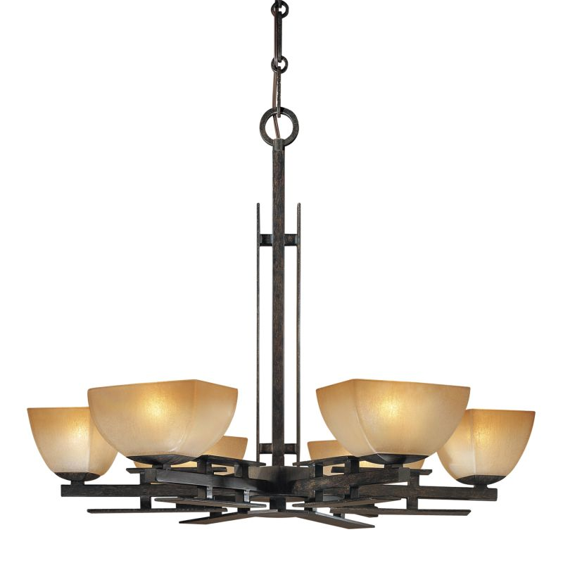 Minka Lavery ML 1276 6 Light 1 Tier Chandelier from the Linear