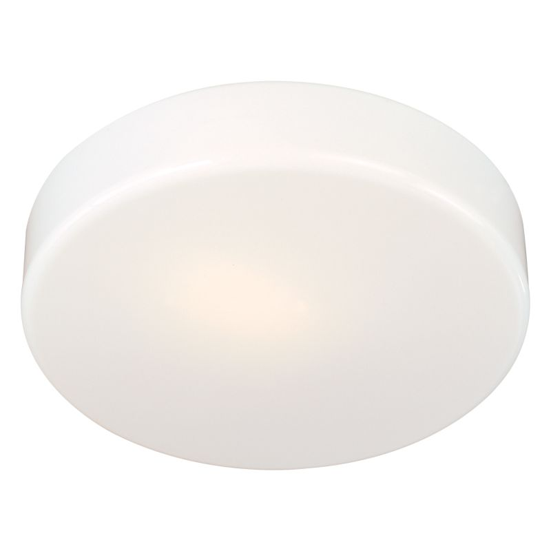 Minka Lavery 866-44-PL 1 Light Fluorescent Flush Mount Ceiling Fixture
