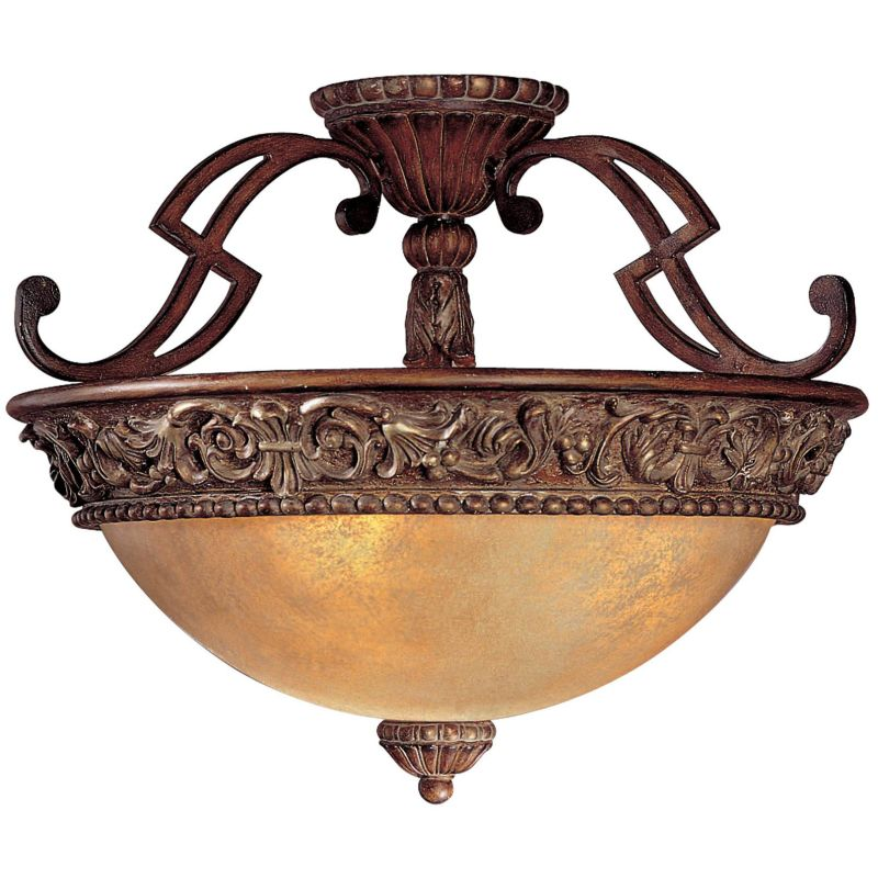 Minka Lavery ML 949 3 Light Semi-Flush Ceiling Fixture from the Sale $209.00 ITEM: bci348011 ID#:949-126 UPC: 747396014753 :