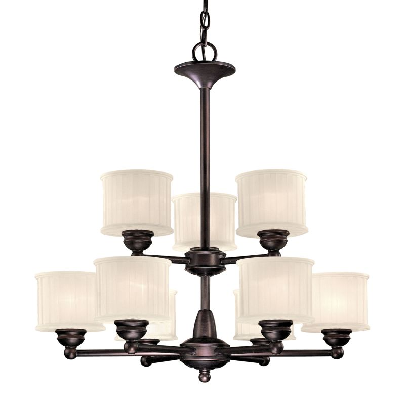 Minka Lavery ML 1739 9 Light 2 Tier Chandelier from the 1730 Series