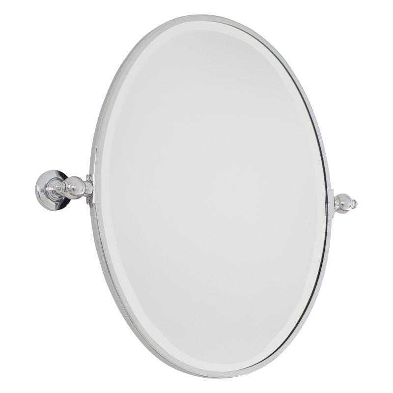Minka Lavery 1431 Standard Oval Pivoting Bathroom Mirror Chrome Home