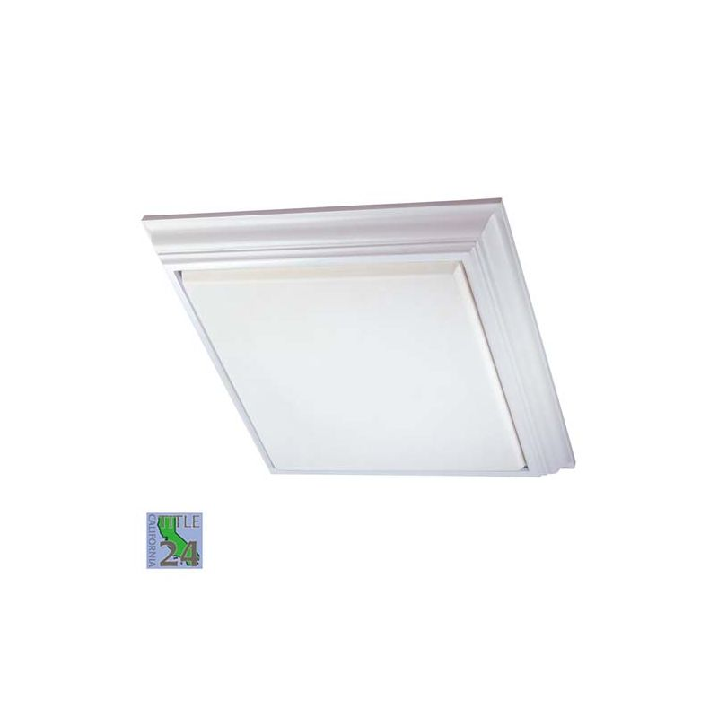 Minka Lavery 1000-PL 4 Light Fluorescent Flush Mount Ceiling Fixture