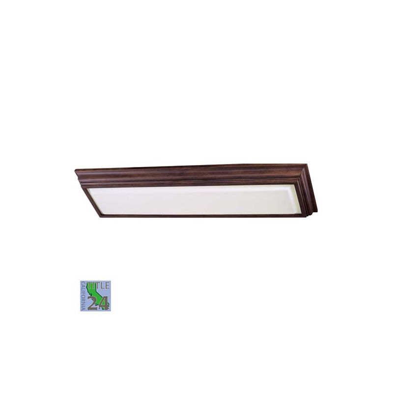 Minka Lavery ML 1001-PL 2 Light Fluorescent Ceiling Fixture from the