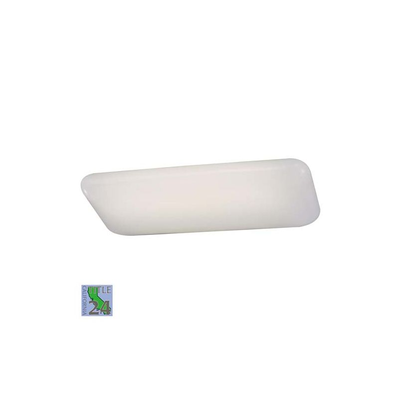 Minka Lavery ML 1005-PL 2 Light Fluorescent Ceiling Fixture from the