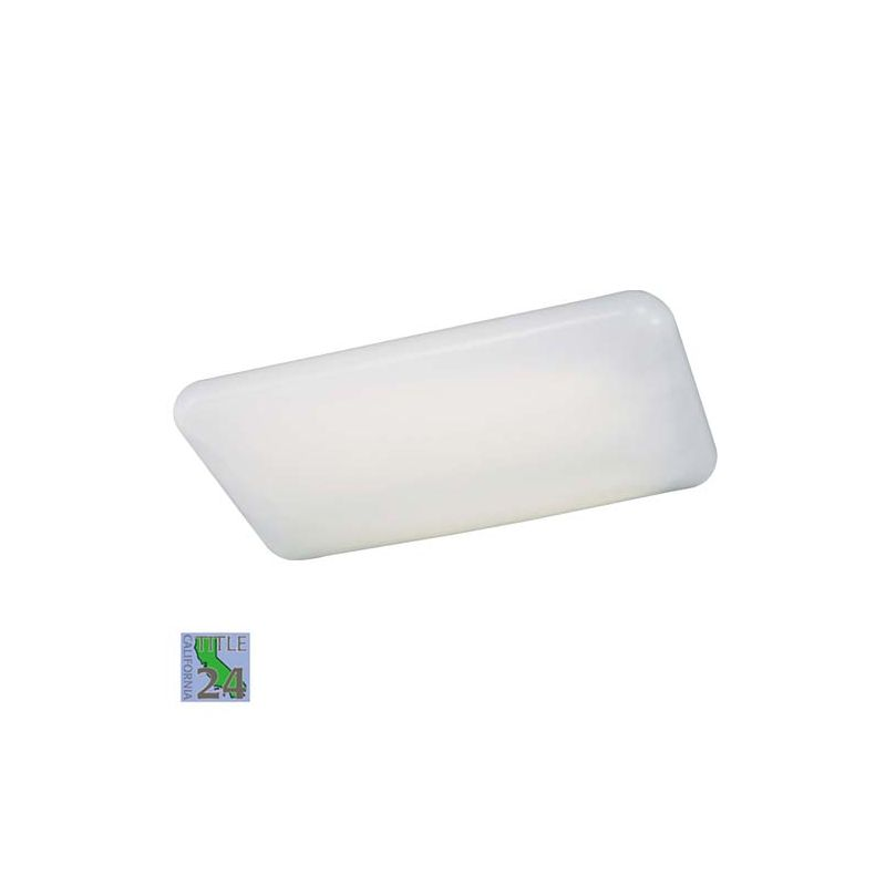 Minka Lavery ML 1006-PL 4 Light Fluorescent Ceiling Fixture from the