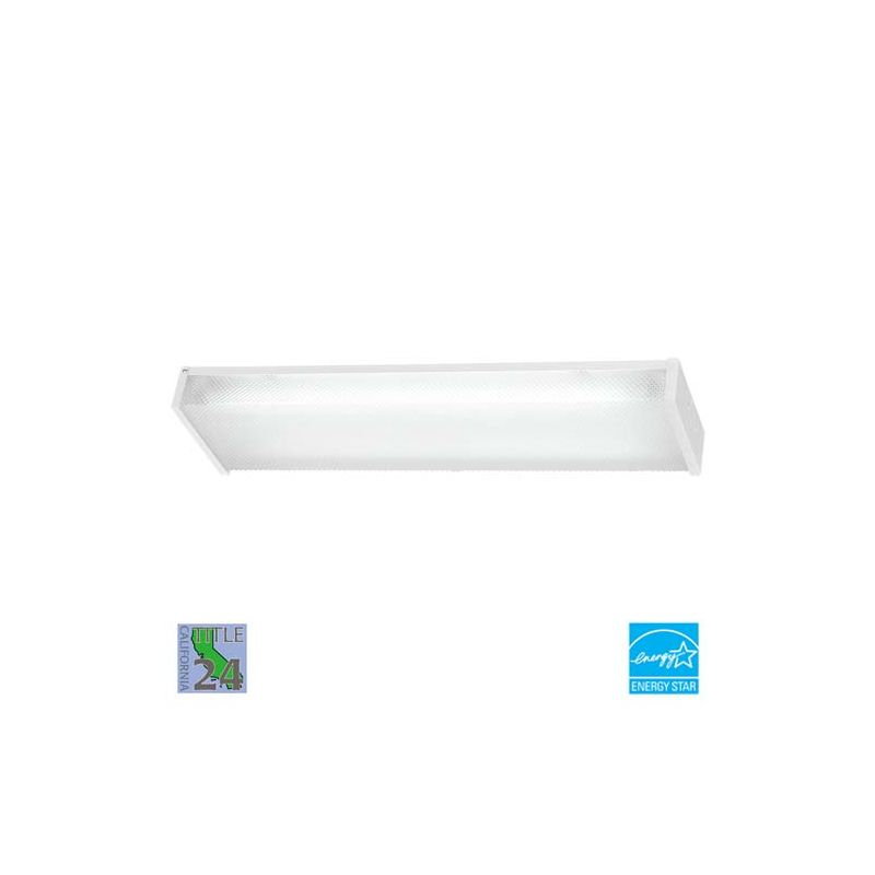Minka Lavery ML 1010-PL 2 Light Energy Star Ceiling Fixture from the