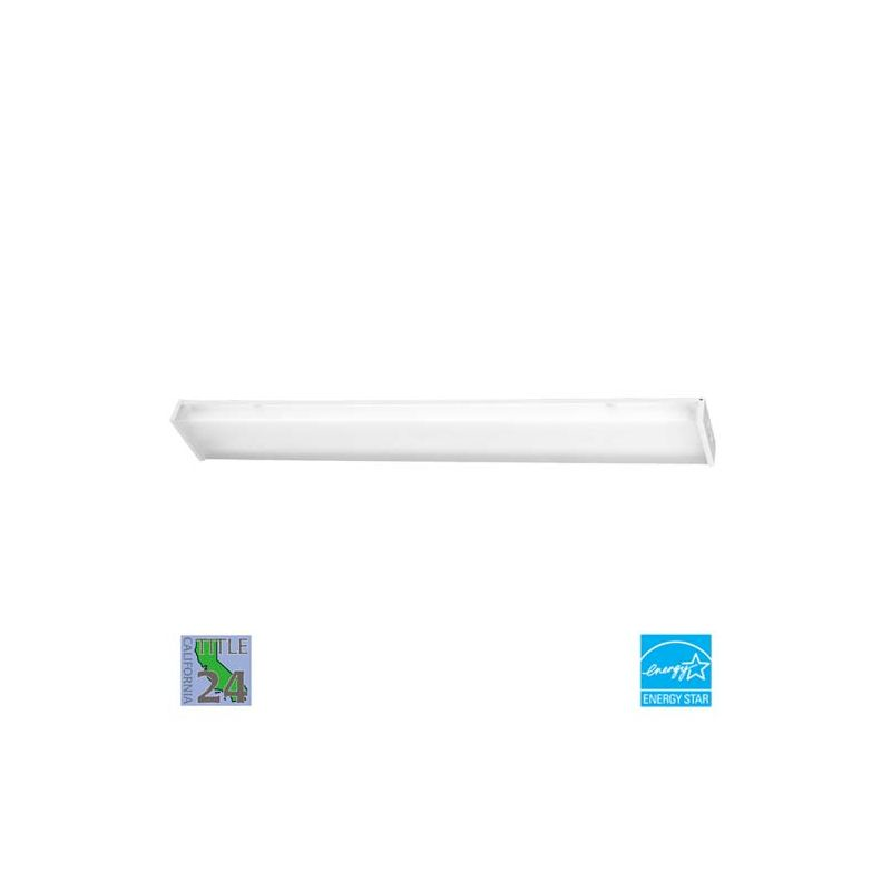 Minka Lavery ML 1011-PL 2 Light Energy Star Ceiling Fixture from the