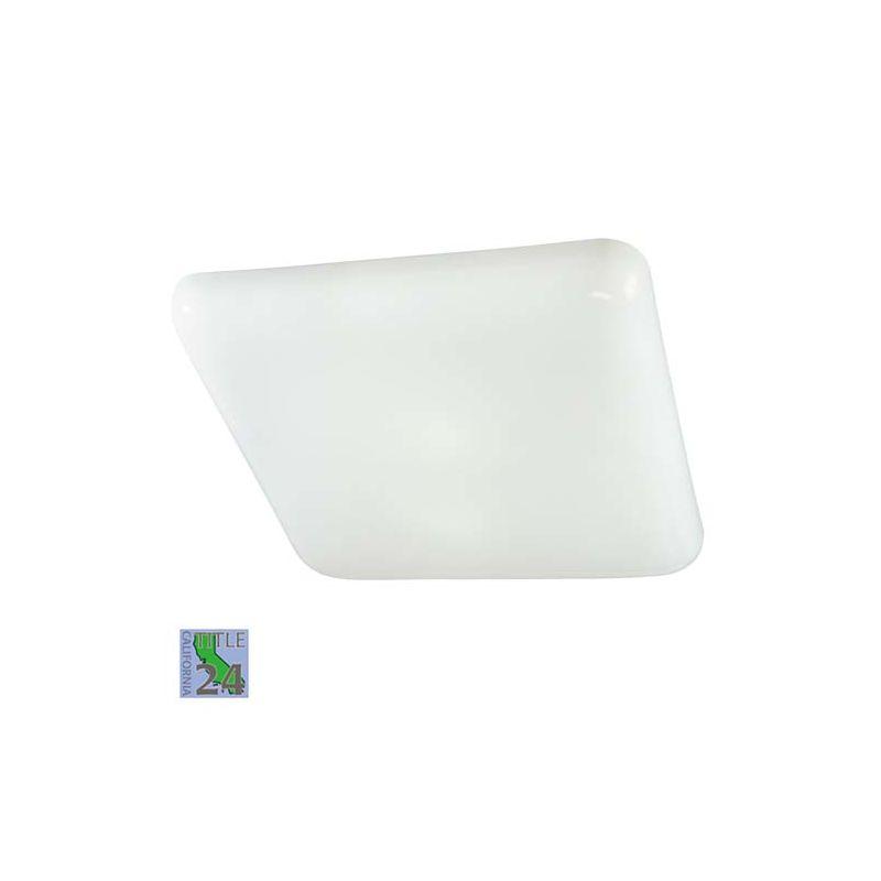 Minka Lavery 1022-PL 2 Light Down Lighting Flush Mount Ceiling Fixture