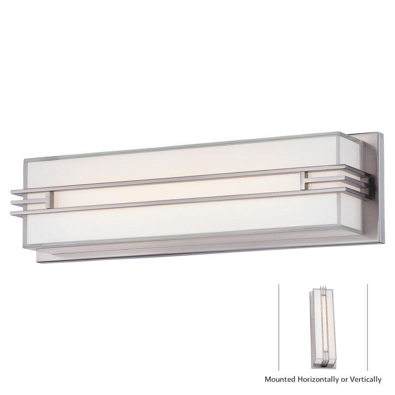 "Minka Lavery 2942-84-L 1 Light 17.5"" Width LED ADA Bath Bar from the"