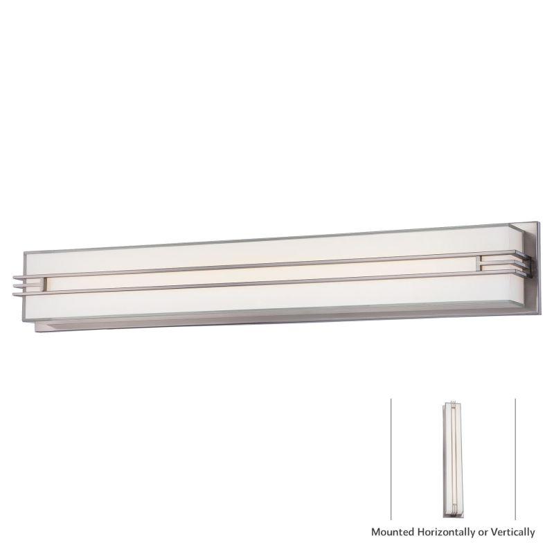 "Minka Lavery 2944-84-L 1 Light 31.5"" Width LED ADA Bath Bar from the"